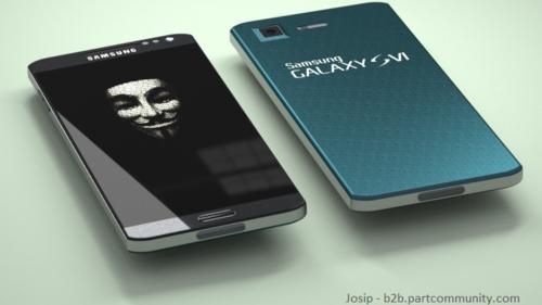One Time cred  Josip Jakubiv Partcommunity Galaxy S6 concept-580-100