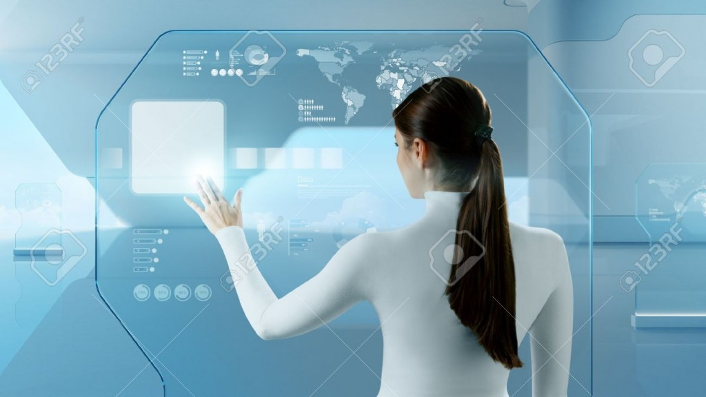 17901200-future-technology-touchscreen-interface-girl-touching-screen-interface-in-hi-tech-interior-business-