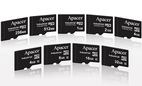 Apacer_Industrial_MicroSDHC_lineup