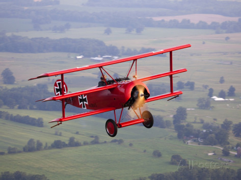 pete-ryan-a-replica-fokker-dr-i-a-red-triplane-as-flown-by-the-red-baron