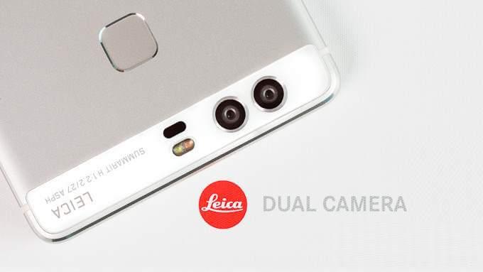 Живая фотография Huawei P9