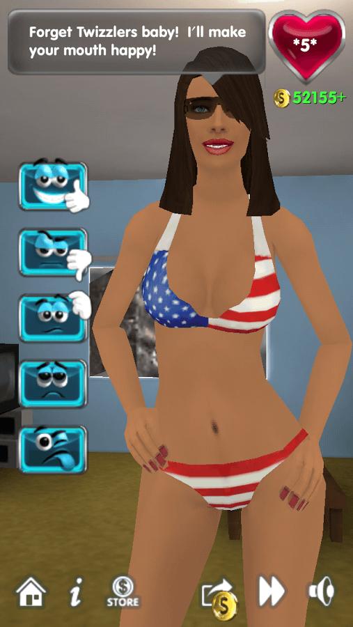 My Virtual Girlfriend игра.