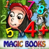 иконка Математика Красная шапочка - детское обучающее приложение